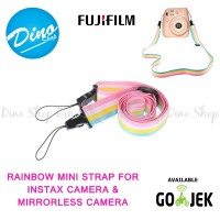 Neck Shoulder Strap / Tali Kamera Rainbow For Instax & Mirrorles