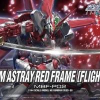 Bandai Original HG 1/144 Gundam Astray Red Frame Flight Unit