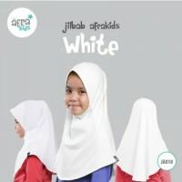 Jilbab Afrakids White JA018 L