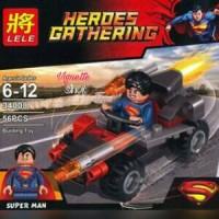 Jual Brick Lego Superman Heroes Gathering 34008 Murah