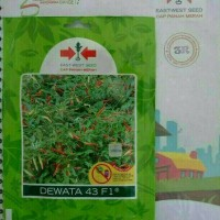 Benih bibit cabe rawit hibrida Dewata 43 F1