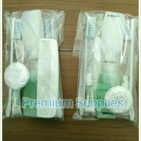 Paket murah amenities hotel,dental kit,shampoo,sabun padat &cair,sisir