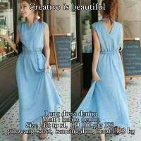 Jual KP2357 Long Dress Denim Dress 0117 KODE TYR2413 Murah
