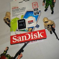 Jual Memory Memori Card MicroSD Micro SD Sandisk Ultra Class 10 32GB 32 GB Murah