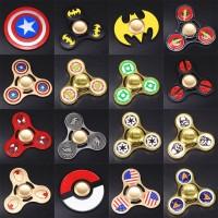 Jual 94 - Fidget Spinner Captain America Batman Spiderman Superman Murah