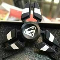 Jual 53 - Fidget Spinner Superman Hand Spinner Keren Impor Murah New Murah