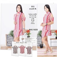 Jual OP9455 dress tribal choker big size 553 motif A KODE Bimb9932 Murah