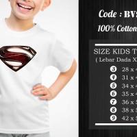 Jual OP276 Kaos Baju Anak Laki Laki Batman Vs Superman KODE Bimb753 Murah