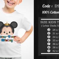 Jual OP271 Kaos Baju Anak Tsum Tsum 13 MotifDesign KODE Bimb748 Murah