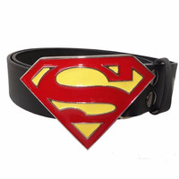 Jual Gesper Superman Classic Murah