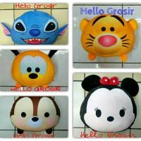 Jual Bantal Boneka Tsum-Tsum Minnie Mouse Tiger Pooh Chip Dale Pluto Stitch Murah
