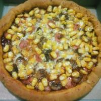 Pizza Vegetarian Sweet Corn
