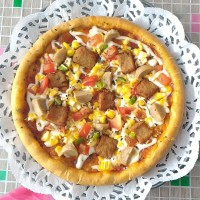 Pizza Vegetarian Porky Ball