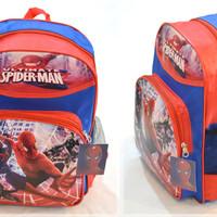 Jual Tas Spiderman Marvel kartun ransel sekolah anak laki kado souvenir Murah