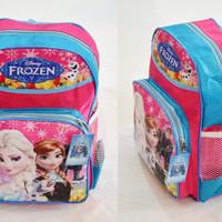 Jual Tas Frozen besar sekolah SD anak perempuan disney ransel souvenir kado Murah