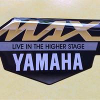 stiker resin yamaha maxi nmax, tmax, xmax, aerox premium