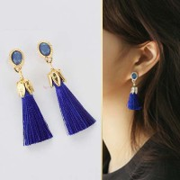 Jual Anting Korea Butterfly Tassel Fashion Earrings JUN236 Murah