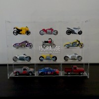 Acrylic Display Case / Rak Display Hotwheel Diecast Tomica 3x4