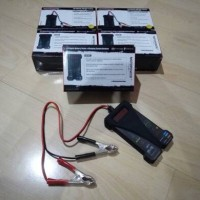 Digital Batere Tester / Alat Check Aki (Accu) & Alternator Mobil.