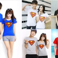 Jual New Superman (putih, hitam, abu, merah, biru) Murah