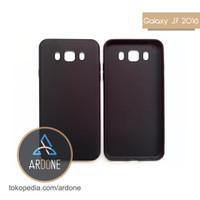Samsung Galaxy J7 2016 J710 | Slim Matte Black Anti Minyak Soft Case