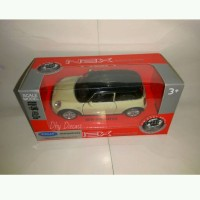 miniatur Mobil New Mini Hatch by welly nex