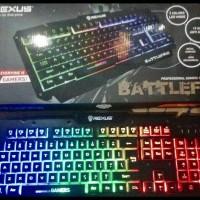 Keyboard Gaming Rexus K9D Semi Mechanical 19 Jeys Anti Ghost