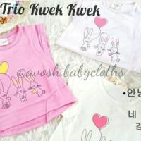Atasan Kaos Anak Trio Kwek Kwek (Import)