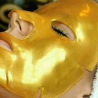 Harga buy 1 get 1 masker topeng gold bio collagen facia mask masker | Pembandingharga.com