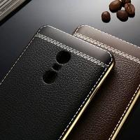 Xiaomi Redmi Note 3 4 4X Mi5 Soft TPU Leather Back Cover Case