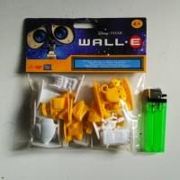 MAINAN ACTION FIGURE ROBOT WALL E MINI FIGURE SET ISI 15