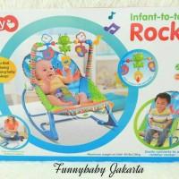 iqbaby infant to toddler / bouncer bayi