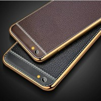 Vivo V5 V5s Y67 Y35 Soft TPU Leather Back Cover Case Casing