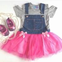 Jual jeans overall balita/dress balita/baju anak perempuan Murah