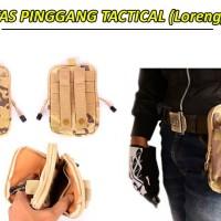 Jual Waist Bag / Tas pinggang pria army tactical / dompet pinggang laki Murah