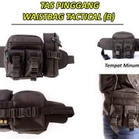 Jual Waist Bag Army / Tas pinggang Tactical Botol Minum Keren Murah