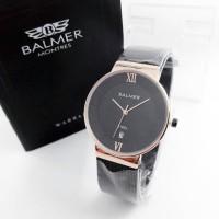jam tangan wanita Balmer 0016B Hitam Rosegold (Original)
