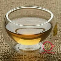 Cangkir teh kecil unik small tea cup double wall