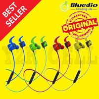 Bluedio TE Bluetooth Wireless Sports Headphone Headset Earphone