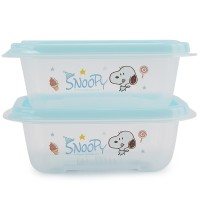 Jual AD1739 Lock and Lock Snoopy Candy Kotak 270ml biru KODE Gute1605 Murah