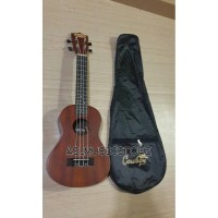 Jual Ukulele Concerto Cowboy Coklat Natural Limited Edition Murah