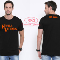 Premium Tshirt Cowo keren-best quality - Game Populer Mobile Legends 2