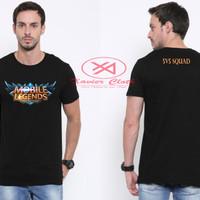 Premium Tshirt Cowo keren - best quality - Game Populer Mobile Legends