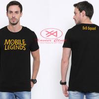 Premium Tshirt Cowo keren-best quality - Game Populer Mobile Legends 3