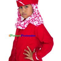 harga Kostum Baju Pramugari Anak Uk 8 (8-9 Tahun) Tangan Panjang Warna Merah Tokopedia.com