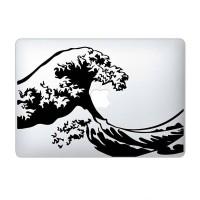 Tokomonster Decal Sticker The Great Wave Off Kanagawa Macbook Pro Air
