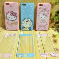 Jual case iphone 6 6s 6 plus 7 7plus hello kitty cute anti gores Murah