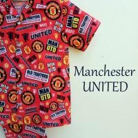 Jual Piyama Katun Anak Manchester United Murah