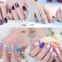 Glitters Nail sticker/ Instant Nail art / Sticker kuku High quality