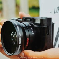Jual Mirrorless 24MP Video FHD Lcd lipat 3inch Lensa Makro dan Wide Murah